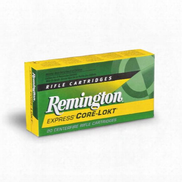 Remington Express, .30-40 Krag, Psp Core-lokt, 180 Grain, 20 Rounds