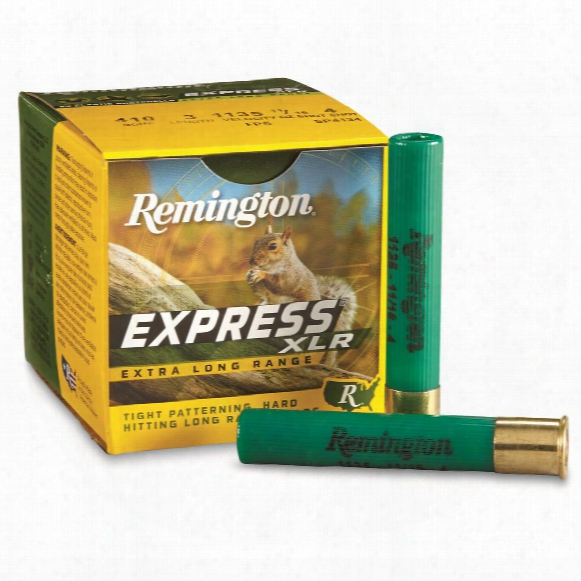 "Remington Express Long Range Loads, .410 Gauge, 3"" Shell, 11/16 Oz., 25 Rounds"