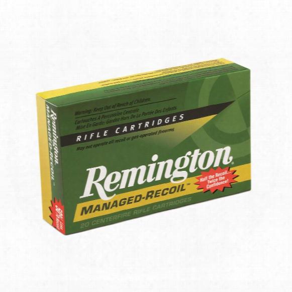 Remington Managed Recoil Rifle, .270 Winchester, Core-lokt Psp, 115 Grain, 20 Rounds