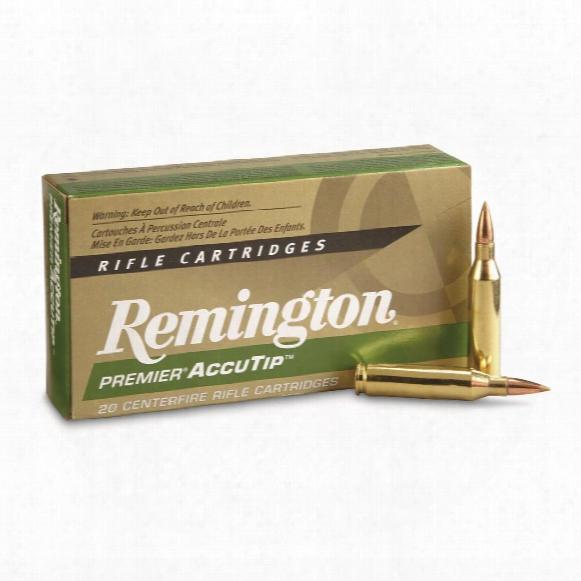 Remingto Premier Accutip, .243 Winchester, Accutip, 95 Grain, 20 Rounds