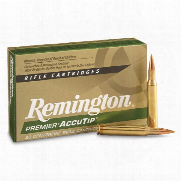 Remington Premier Accutip, .270 Winchester, At-bt, 130 Grain, 20 Rounds
