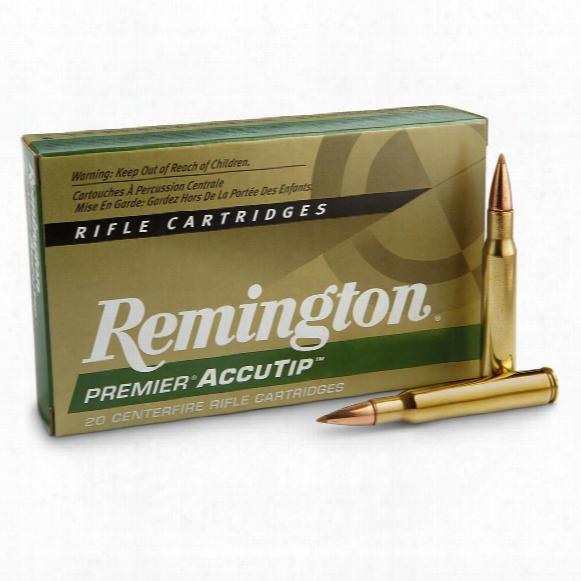 Remington Premier Accutip, .30-06 Springfield, At-bt, 165 Grain, 20 Rounds