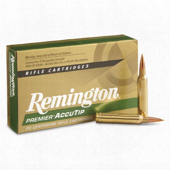 Remington Premier Accutip, 7mm Remington Magnum, At-bt, 150 Grain, 20 Rounds