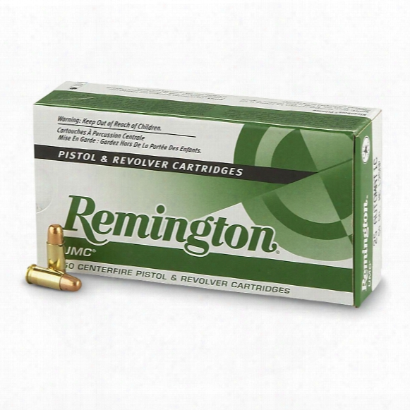 Remington Umc, .40 S&w, Mc, 180 Grain, 50 Rounds