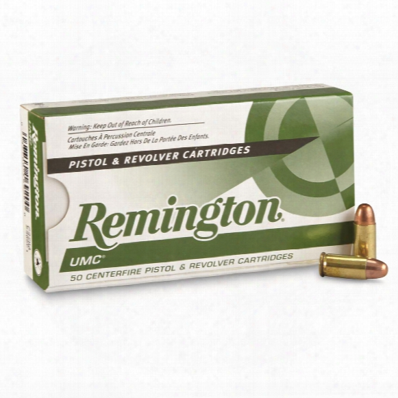 Remington Umc Handgun, .32 Auto., Mc, 71 Grain, 50 Rounds