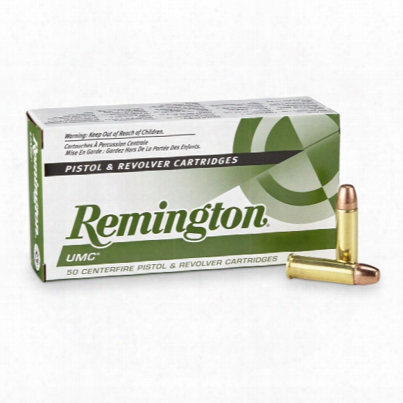 Remington Umc Handgun, .38 Special, Mc, 130 Grain, 50 Rounds