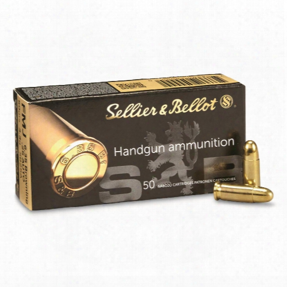 Sellier & Bellot Pistol, .25 Auto, Fmj, 50 Grain, 50 Rounds