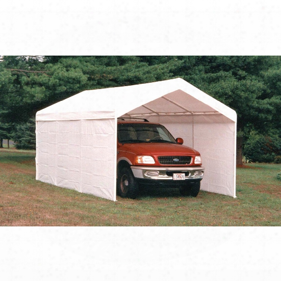 Shelterlogic Max Ap Sidewalls & Doors Canopy Enclosure Kit, 10' X 20'