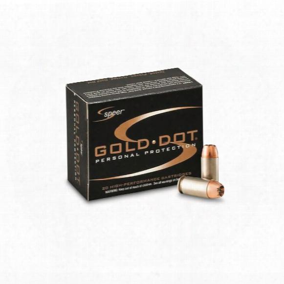 Speer Gold Dot, .32 Acp, Gdhp, 60 Grain, 20 Rounds
