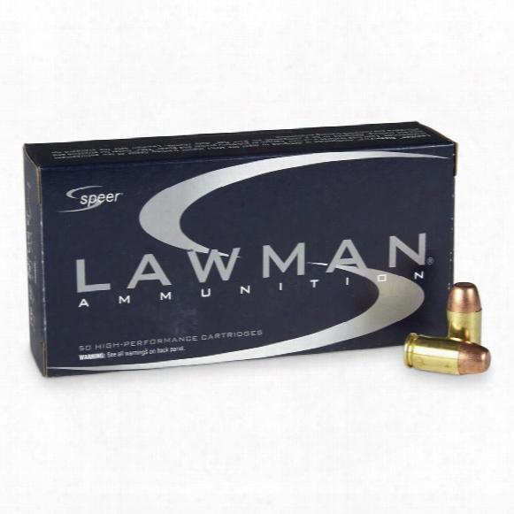 Speer Lawman, .45 Glock A.p., 185 Grain, Tmj Fn, 50 Rounds