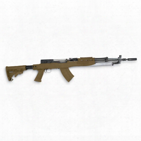 Tapco T6 6-position Sks Stock With Blade Bayonet Cut