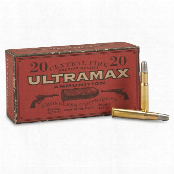 Ultramax Cowboy Action, .30-30 Winchester, Rnfp, 165 Grain, 20 Rounds