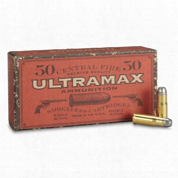 Ultramax Cowboy Action, .38-40, Rnfp, 180 Grain, 50 Rounds