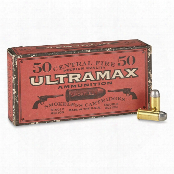 Ultramax Cowboy Action, .44 Russian, Fn, 200 Grain, 50 Rounds