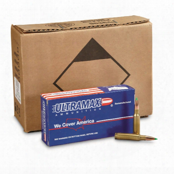 Ultramax Remanufactured, .308 Cartridge, Nbt, 150 Grain, 100 Rounds