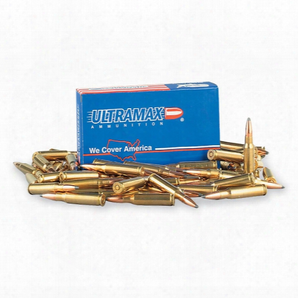 Ultramax Remanufactured, .308 Winchester, Btsp, 165 Grain, 20 Rounds