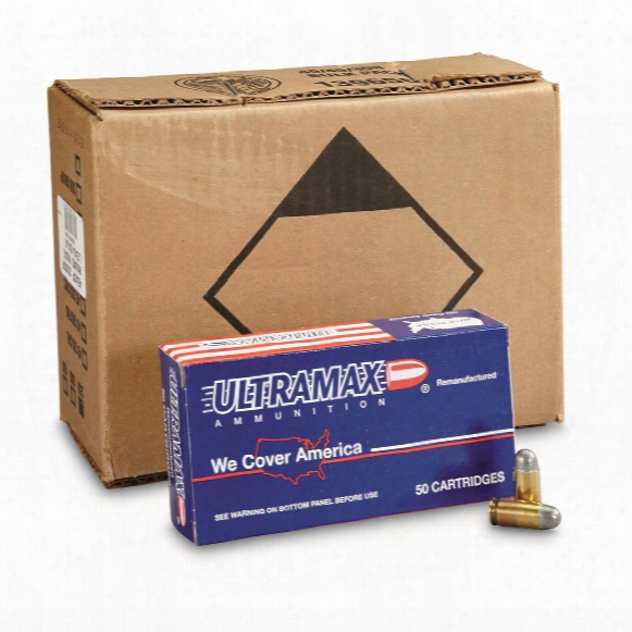 Ultramax, Remanufactured, .45 Acp, Rnl, 230 Grain, 500 Rounds