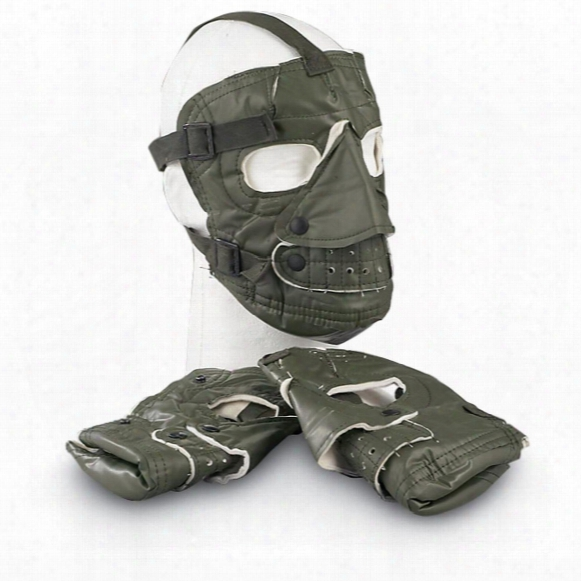 U.s. Military Surplus Ecws Face Masks, 3 Pack, New