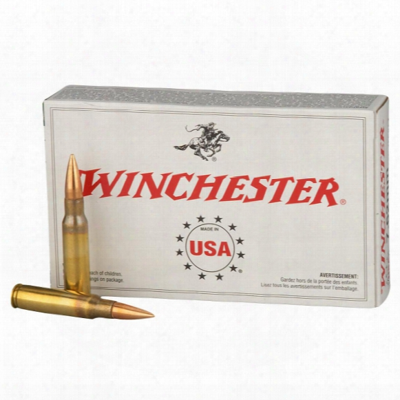 Winchester, .308 (7.62x51mm), Fmj, 147 Grain, 200 Rounds