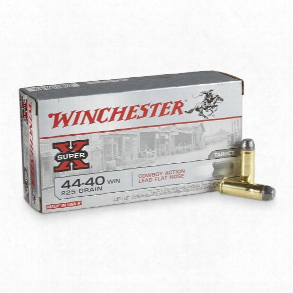 Winchester Cowboy Loads, .44-40, Lfn, 225 Grain, 50 Rounds