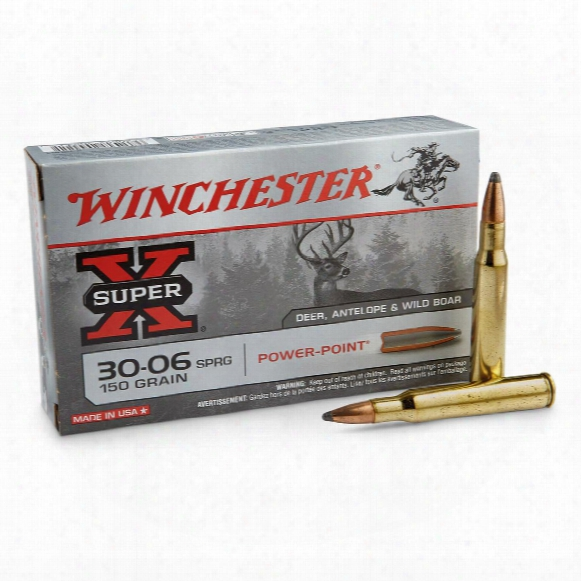 Winchester Super-x, .30-06 Springfield, Pp, 150 Grain, 20 Rounds
