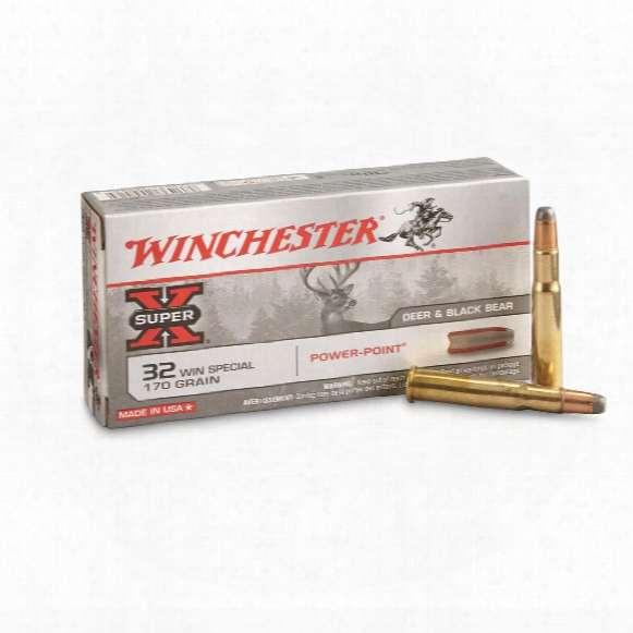Winchester Super-x, .32 Winchester Special, Pp, 170 Grain, 20 Rounds