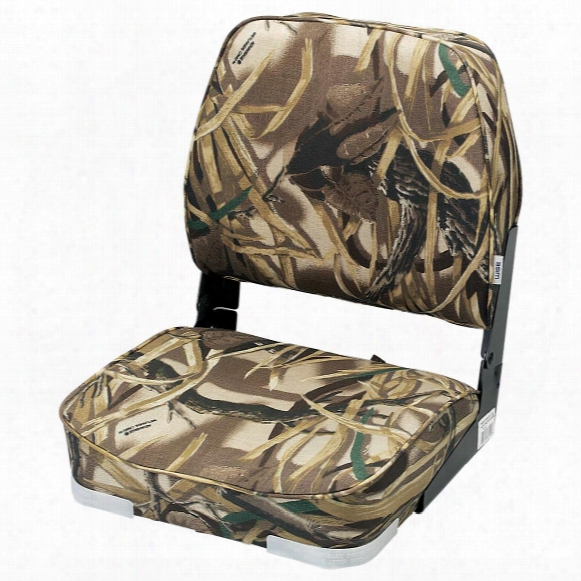 Wise Camouflage Hunting / Fishing Fold - Down Boat Seat