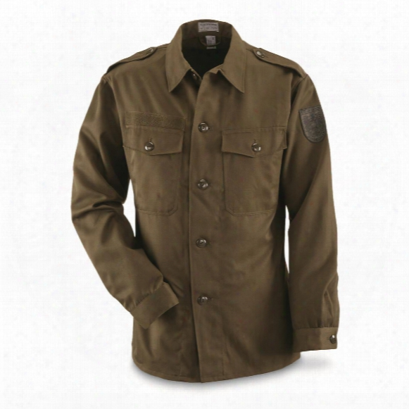 Austrian Military Surplus Field Shirts, 3 Pack, New