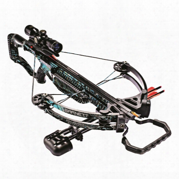 Barnett Lady Whitetail Hunter Ii Compound Crossbow Package, 4x32mm Scope