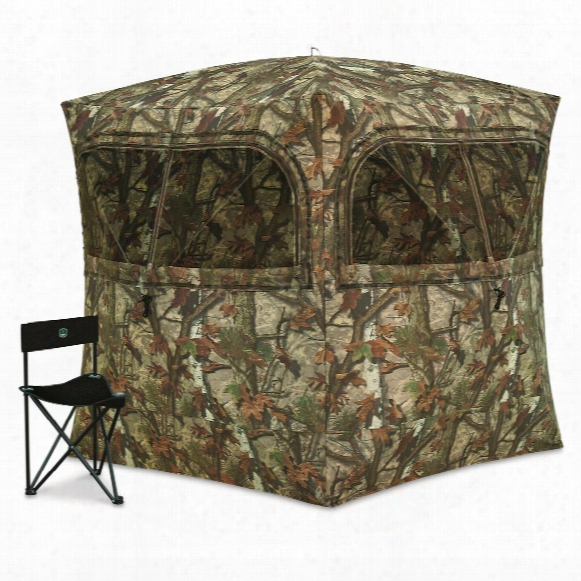 Barronett Blinds Grounder 350 Hunting Blind With Bonus Hunting Chair