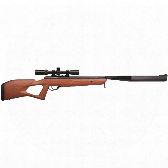 Benjamin Trail Np2 Stealth Sbd Air Rifle With 3-9x32mm Scope, Wood Stock
