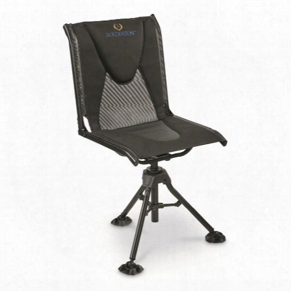 Bolderton 360 Comfort Swivel Hunting Blind Chair, 300 Lb. Capacity