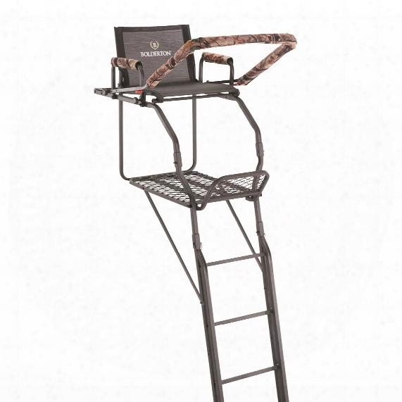 Bolderton Double Rail Deluxe 20' Ladder Tee Stand
