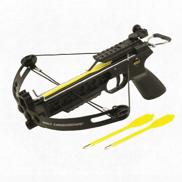 Bolt Crossbows, The Pitbull Pistol Grip Compound Crossbow, 28 Lb.