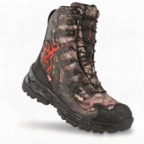 "Browning Buck Shadow 8"" Men's Waterproof Insulated Hunting Boots, 400 Gram"