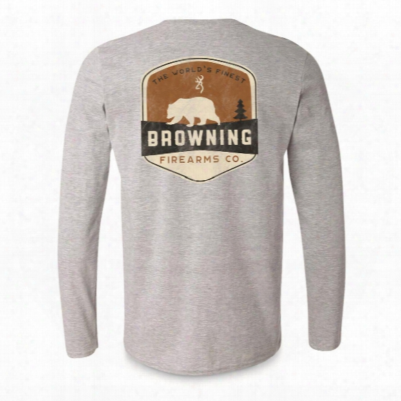 Browning Men's Bear Banner Long-sleeve T-shirt
