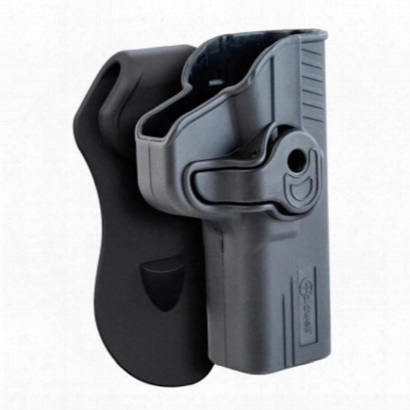 Caldwell Tac Ops Molded Retention Holster, Glock 17 R H, Right Hand