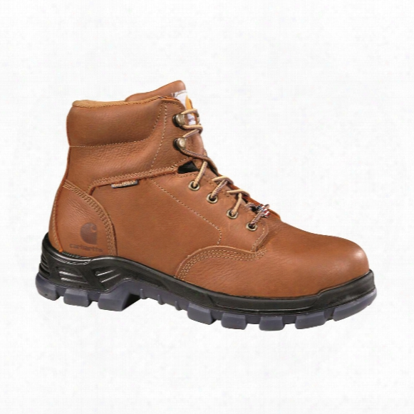 "Carhartt Men's Made In The Usa Waterproof 6"" Composite Toe Work Boots"