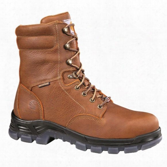 Carhartt Men's Made In The Usa Waterproof 8&wuot; Work Boots