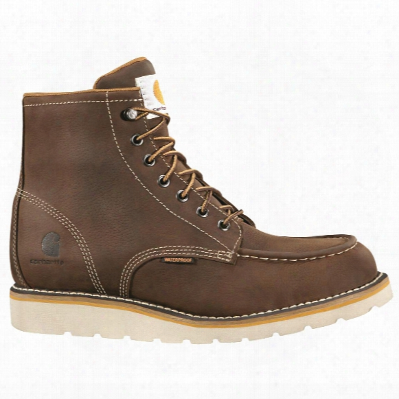 "Carhartt Men's Waterproof 6"" Wedge Work Boots"