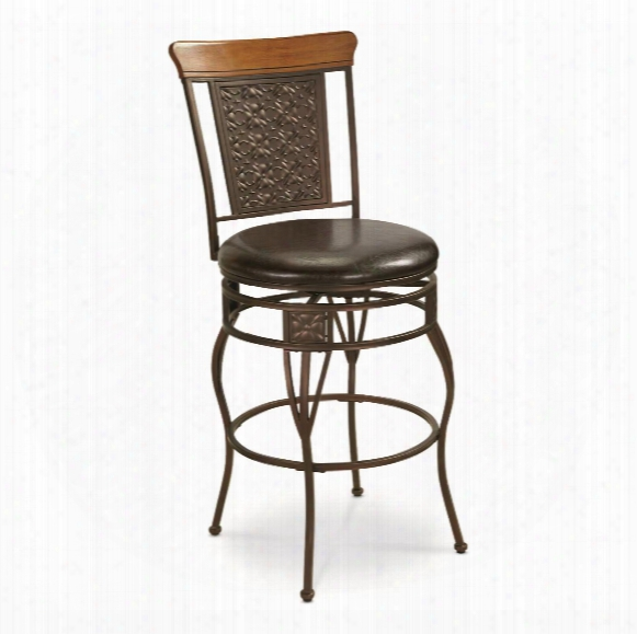 Castlecreek Oversized Pressed Metal Bar/counter Stool