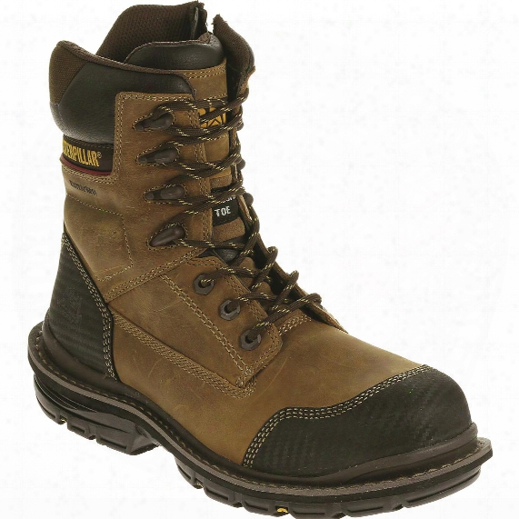 "Cat Men's Fabricate 8"" Tough Waterproof Composite Toe Work Boots"