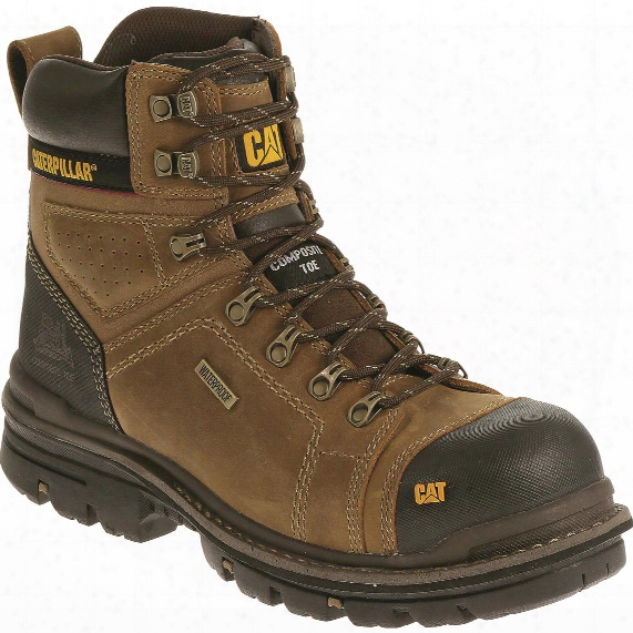 "Cat Men's Hauler 6"" Waterproof Composite Toe Work Boots"