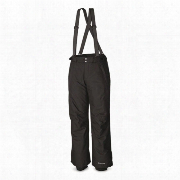 Columbia Men's Bugaboo Waterproof Omni-heat Suspender Bibs