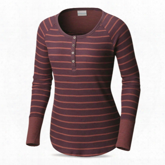 Columbia Women's Along The Gorge Thermal Henley Shirt