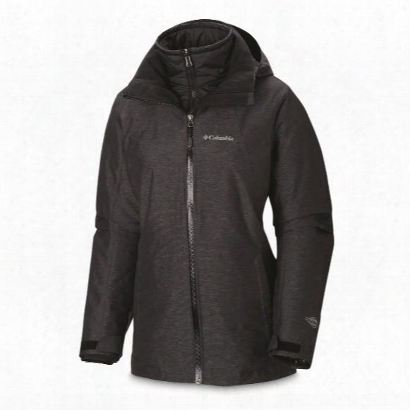Columbia Women's Whirlibird Insulated Waterproof Interchange Jacket
