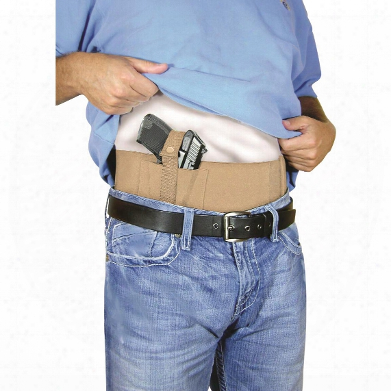 "Concealed Carry Belly Band, 28"" To 34"" Waist"
