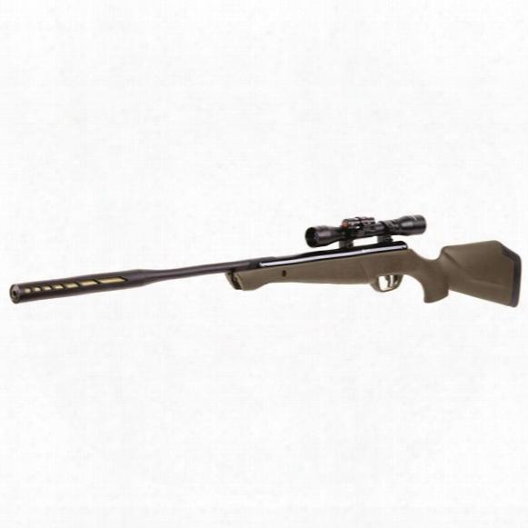 Crosman Varminator .177 Caliber Nitro Piston Air Rifle, 4x32mm Scope With Laser