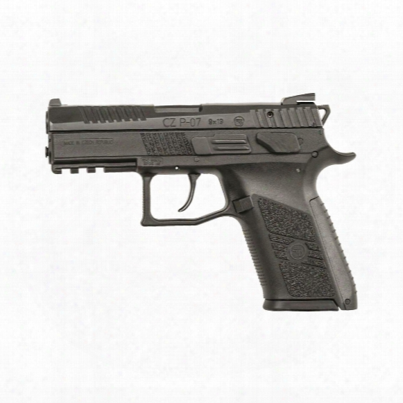 "Cz-usa P-07 Gen 2, Semi-automatic, 9mm, 3.75"" Barrel, 15+1 Rounds"