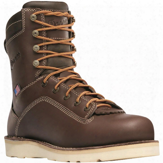 "Danner Men's Quarry Usa Waterproof 8"" Wedge Work Boots"
